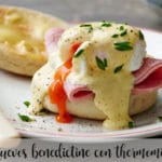 Huevos benedictine con thermomix