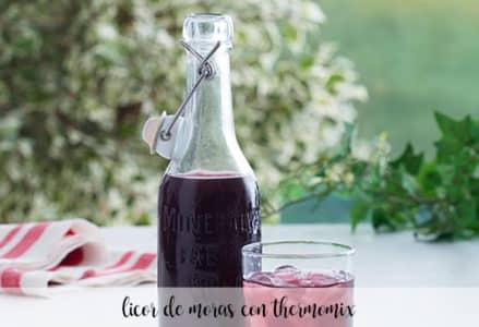 Licor de Moras con Thermomix