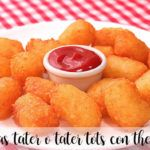 Patatas tater o tater tots con thermomix