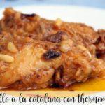 Pollo a la catalana con Thermomix