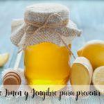 Jarabe de Limon y Jengibre para prevenir resfriados