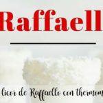 Licor de Raffaello con thermomix