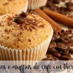 Magdalenas o muffins de café con thermomix