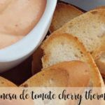 Mayonesa de tomate cherry con Thermomix