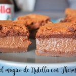 Pastel mágico de Nutella con Thermomix