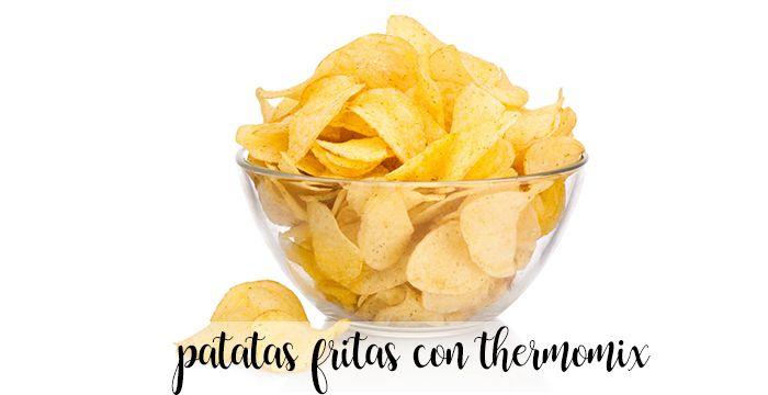 Patatas fritas con Thermomix