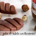 Polos de nutella con thermomix