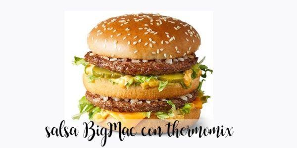 Salsa Big Mac con Thermomix
