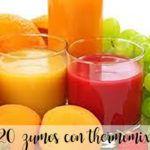 zumos con thermomix