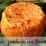 Flan de zanahoria con Thermomix