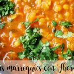 Lentejas marroquíes con Thermomix