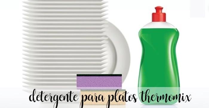 Detergente para platos thermomix