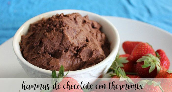 Hummus de chocolate con Thermomix