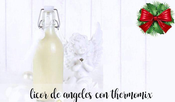 Licor de angeles con thermomix
