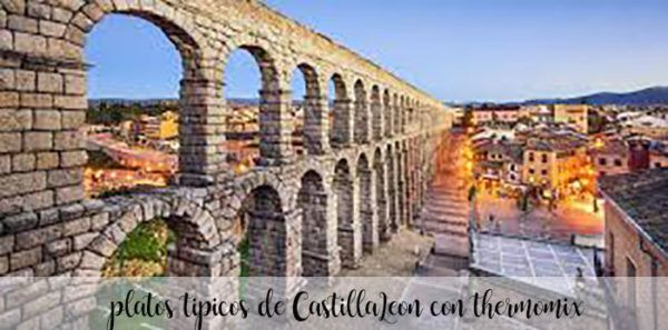 15 platos tipicos de Castilla Leon con Thermomix
