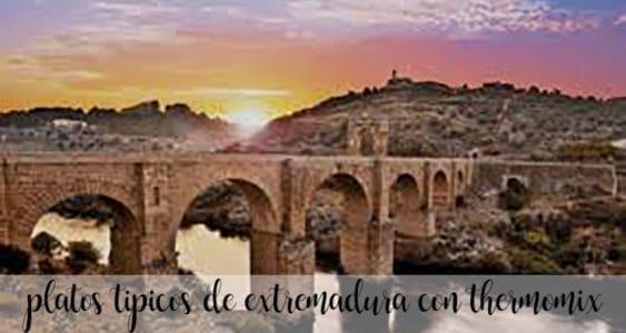 10 platos tipicos de Extremadura con Thermomix