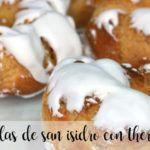 Rosquillas de San Isidro con thermomix