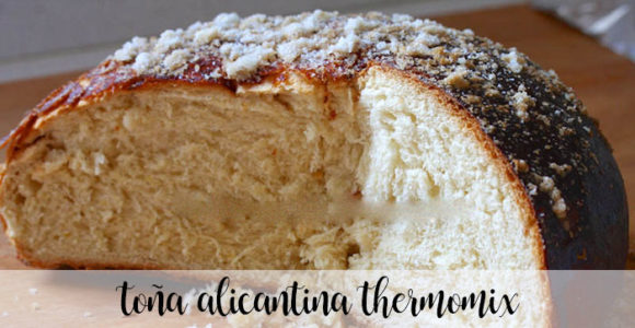 Toña Alicantina con Thermomix