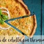 Torta de cebolla con thermomix