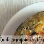 Tortilla de berenjenas con Thermomix