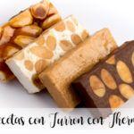 20 recetas con Turron con Thermomix