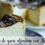 Tarta de queso alsaciano con Thermomix