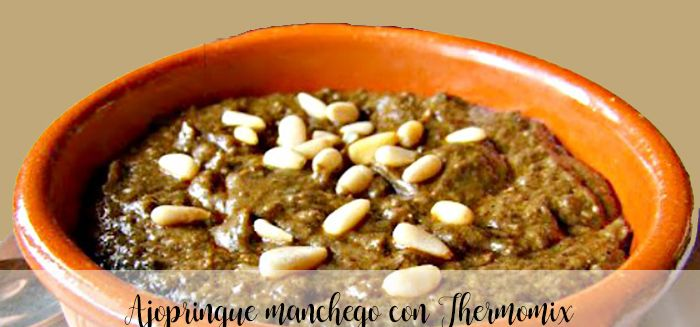 Ajopringue manchego con Thermomix