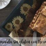 Empanada sin gluten con thermomix
