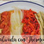Escalivada con Thermomix