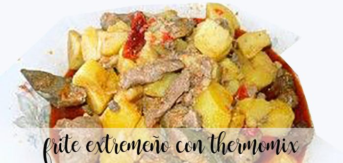 Frite extremeño con thermomix
