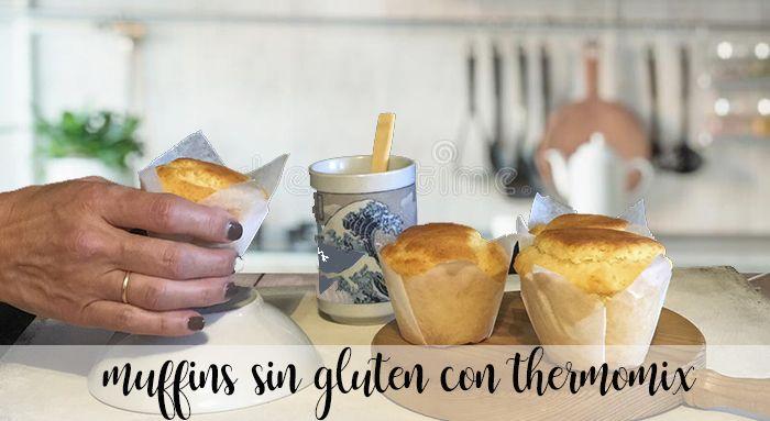Muffins sin gluten con thermomix