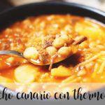 Rancho canario con Thermomix
