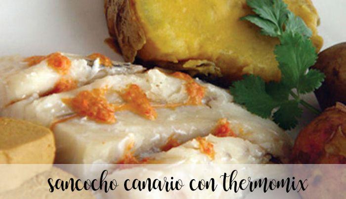 Sancocho canario con Thermomix