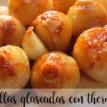 Cebollas glaseadas con Thermomix