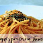Espaguetis picantes Thermomix