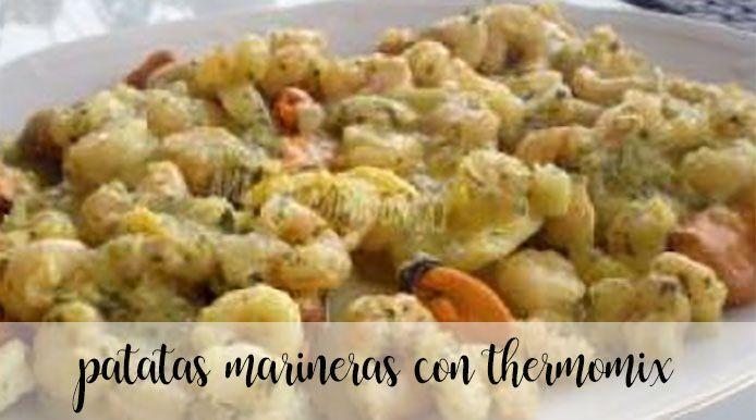 Patatas marineras con Thermomix
