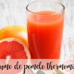 zumo de pomelo con thermomix