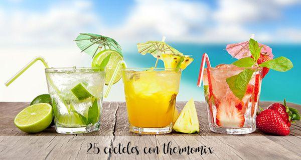 25 cocteles con thermomix