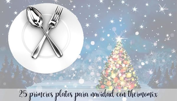 25 primeros platos para navidad
