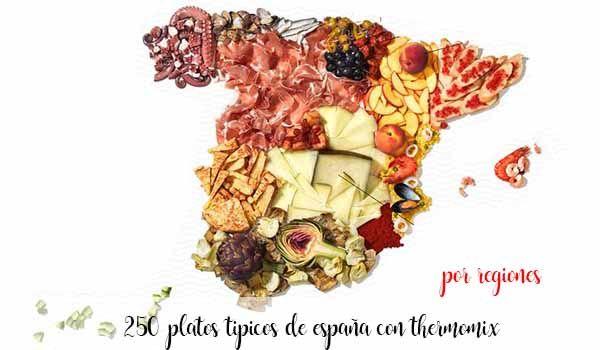 Platos Tipicos de España con Thermomix