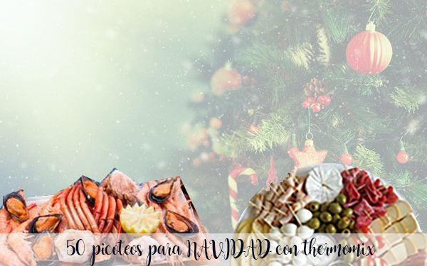 50 recetas de entrantes y picoteo para navidad
