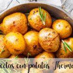 75 recetas con patatas con thermomix