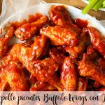 Alitas de pollo picantes Buffalo Wings con Thermomix