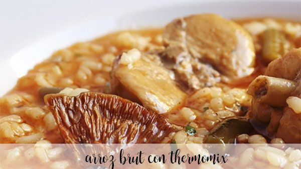 Arroz brut con thermomix