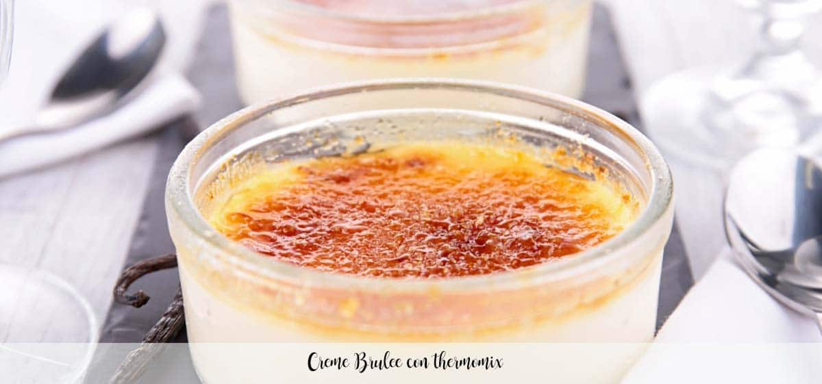 Creme Brulee con thermomix