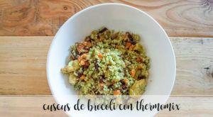 cuscus de brocoli con thermomix