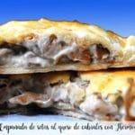 Empanada de setas al queso de cabrales con Thermomix