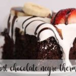 Fondant de chocolate negro con Thermomix