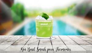 Gin Basil Smash para Thermomix