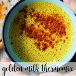 Golden milk con thermomix